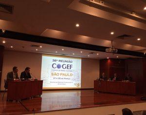 Realizada a 38ª reunião da COGEF em São Paulo