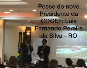 COGEF tem novo Presidente: Luís Fernando Pereira da Silva